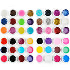 12PCS Mix Color Pure/Glitter UV Gel Builder Polish Tips Acrylic Nail Art Kit Set