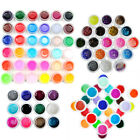 12/18/30/36 Color Pure/Glitter UV Nail Polish Gel DIY Nail Art Tips Manicure Kit