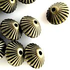Bicone Spacer Beads 20pcs Copper Antique Brass Silver Gold Jewelry Finding 7mm
