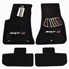 Dodge Challenger SRT8 Floor Mats 4PC - SRT-8 Embroidery - Custom - 32OZ 2PLY USA
