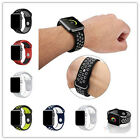 Soft Silicone Replacement Strap Sport Band For Apple Watch 42mm/38mm iWatch US