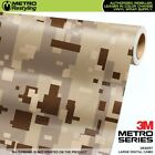 LARGE DIGITAL DESERT Camouflage Vinyl Car Wrap Camo Film Sheet Roll Adhesive