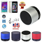 Bluetooth Metal HiFi Handsfree Bass Speaker For Laptop iPhone Tablet+MIC&TF Slot
