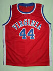 CUSTOM NAME & # GEORGE GERVIN VIRGINIA SQUIRES JERSEY NEW RED ANY SIZE, NAME, #