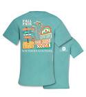 Southern Couture Preppy Fall Fair Comfort Colors Bright T-Shirt