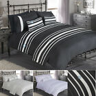 Luxury Diamante Duvet Quilt Cover Bedding Set In A Choice Of  Colours