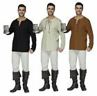 Mens Renaissance Peasant Pirate Shirt Adult