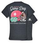Southern Couture Preppy Gear Up for Game Day Football Cheer T-Shirt