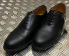 Genuine British Army Black Leather Mens Service Shoes w Toe Caps All Sizes - NEWFormal Shoes - 53120