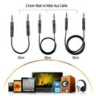 Male to Male M/M Stereo 3.5mm Audio Aux Cable Connector for Car Headphone MP3