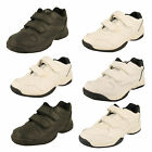 Mens Hi-Tec White/Black Trainers - Legend (EZ Hook&Loop, Wide EZ M, Wide, Ez M)