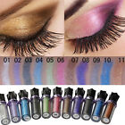 Colorful ROLL ON EYE SHIMMER Eyeshadow Glitter Pigment Powder Body Makeup Tools