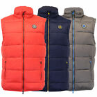 Mens Gilet Crosshatch Bodywarmer Padded Quilted Puffer Sleeveless Lined Winter