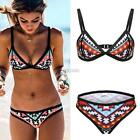 Women Swimsuit Beachwear Swimwear Padded Push-Up Bra Bikini Set DZ8801 01