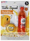 TASTE BEAUTY 2pc LIP BALM+GLOSS SET Pot+Bottle FOOD+DRINK New! *YOU CHOOSE* 1b
