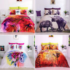 Digital 3D Effect Bedding Set Duvet Cover With Pillowcases Single, Double, King