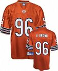 NFL Football Trikot Jersey Chicago Bears A. Brown 96 orange