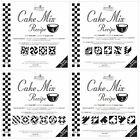 MODA Cake Mix Recipes for quilting with Miss Rosie's Quilt Co.