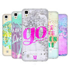 HEAD CASE DESIGNS FRASI WANDERLUST COVER RETRO RIGIDA PER LG TELEFONI 2