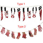 Halloween Spooky Party Haunted House Hanging Garland Pennant Banner Decoration
