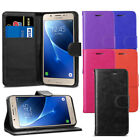Premium Wallet Case Leather Flip Cover For Samsung Galaxy J5 2016 Case + Screen