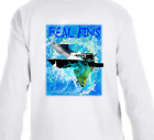 Real Fins Fishing Boat Marlin Mahi Dolphin Boating Sailfish T-Shirt Long Sleeve