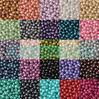 Top Quality 4mm 6mm 8mm 10mm 12mm Czech Glass Pearl Round Spacer Beads Findings