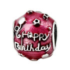 European Silver Charms Xmas Beads Pendant Fit 925 sterling Necklace Bracelet