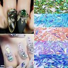 10Pcs Nail Art 3D Design Glitter Crystal Rhinestone Tips DIY Decoration Diamond