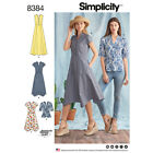 Simplicity Pattern 8384 Womens Dress with Length Variations & Top