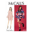 McCalls Sewing Pattern Misses Trumpet Sleeve Dresses | M7505