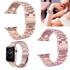 Strap Stainless Steel Replacement 38mm Bracelet Band Clasp for Apple Watch