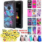 For ZTE Blade Z Max, ZTE Sequoia, Zmax Pro 2 Hybrid Case Phone Cover Protector