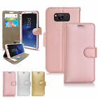 Luxury Wallet Leather Flip Stand Case Cover For Various Phones + Free Stylus Pen