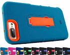 for Apple iPhone 8 Plus / 7 Plus Heavy Duty Hybrid Case Phone Cover +Prytool
