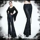 goth visual baroque withered wood Branch flare leg dress pants【PT048】