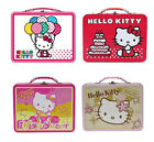 Sanrio Hello Kitty School Tin Tote Snack Lunch Box Carry All Gift Bag Birthday