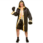 NEW Champion Boxer Mens Boxing Robe Adult Sports Fancy Dress Halloween Costume