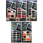 KISS 16pc MANI POP Strips/Stickers/Appliques NAIL ACCENTS Halloween *YOU CHOOSE*