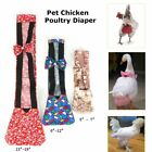 3 Size Pet Goose Duck Chicken Poultry Adjustable Easy To Use Cloth Diaper Farm