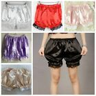 Women Pants Elasticity Hot Pants Bloomers Summer Casual Lace Shorts Safety Pants
