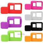 7 Colors Lens Cap Cover + Silicone Housing Case Protector for Gopro 5 NI5L