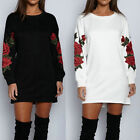 Women's Casual Long Sleeve Hooded Jumper Pullover Sweatshirt Tops Shirt Hot #US