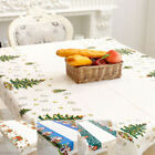 Christmas Disposable Rectangle Cartoon PVC Tablecloth Banquet Home Decor GIFTS