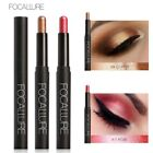 FOCALLURE Waterproof Metallic Eye Liner Pencil Luminous Eye Shadow Pen GIFT