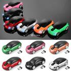 Car Shape 2.4GHz Wireless Cordless Optical Mouse USB Receiver for PC DZ88 01
