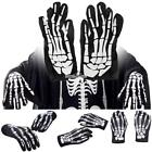 New Unisex Skeleton Gloves Hip-pop Polyester Gloves for Clubwear Catsuit S0BZ