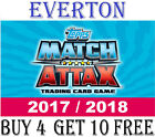 Match Attax EVERTON 2017/18 17/18 Cards #109-126 2018