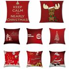1pcs Christmas Series Cushion Cover Printing Throw Pillow Pillowcase Decoration