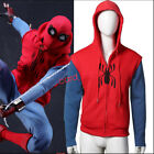 Spider-Man: Homecoming Coat Peter Parker man Hoodie Sweatshirt Cosplay Costume